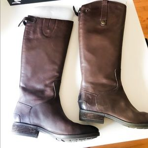 Sam Edelman Penny Dark Brown Riding Boots